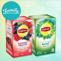 New FamilyRated Club Offer / Nouvelle Offre du Club FamilyRated: Lipton®Tea