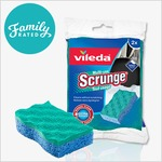 NEW FamilyRated Club Offer / Nouvelle offre du Club FamilyRated: Vileda Scrunge Multi-Use Scrub Sponge