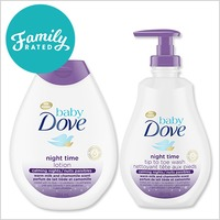 NEW FamilyRated Club / NOUVELLE Offre Club FamilyRated: Baby Dove Night Time