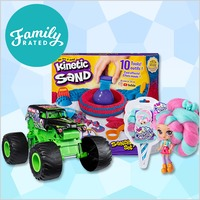 New FamilyRated Club Offer: Spin Master Toy Collection #1