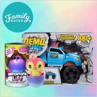 New FamilyRated Club Offer: Spin Master Toy Collection #2