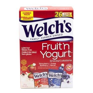 Welch's Fruit 'n Yogurt Snacks