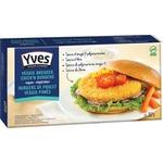 Burgers de poulet veggie pannés - Yves Veggie Cuisine