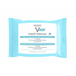 Vichy Pureté Thermale Makeup Removing Micellar Cleansing Wipes