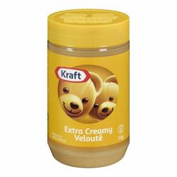 Kraft peanut butter extra creamy