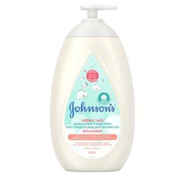 Johnson's® Cottontouch™ Newborn Face & Body Lotion
