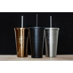 Starbucks Steel Cold Cup with Straw