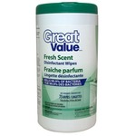 Great Value Fresh Scent Cleaning Wipes