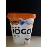 Iogo lactose free plain yogourt