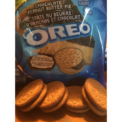 Chocolate Peanut Butter Pie Oreos