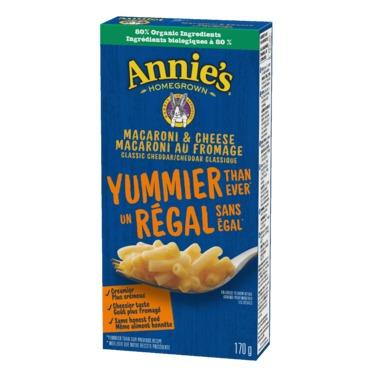 Annie's Classic Cheddar Macaroni & Cheese