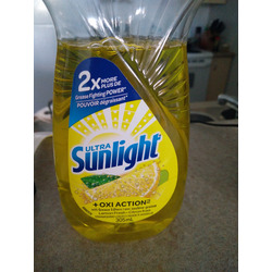Ultra sunlight dishwashing soap