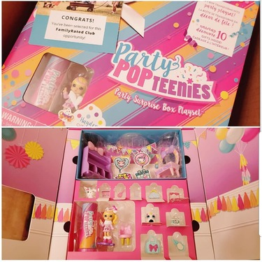 Party Popteenies Party Surprise Box Playset