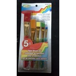 Crafts 5 peice paint brush set