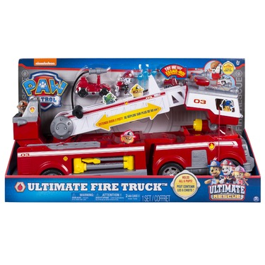 Paw Patrol Ultimate Rescue Fire Truck Reviews In Action Figures