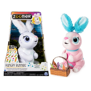 Zoomer Hungry Bunnies Reviews In Electronic Toys For Kids Familyrated