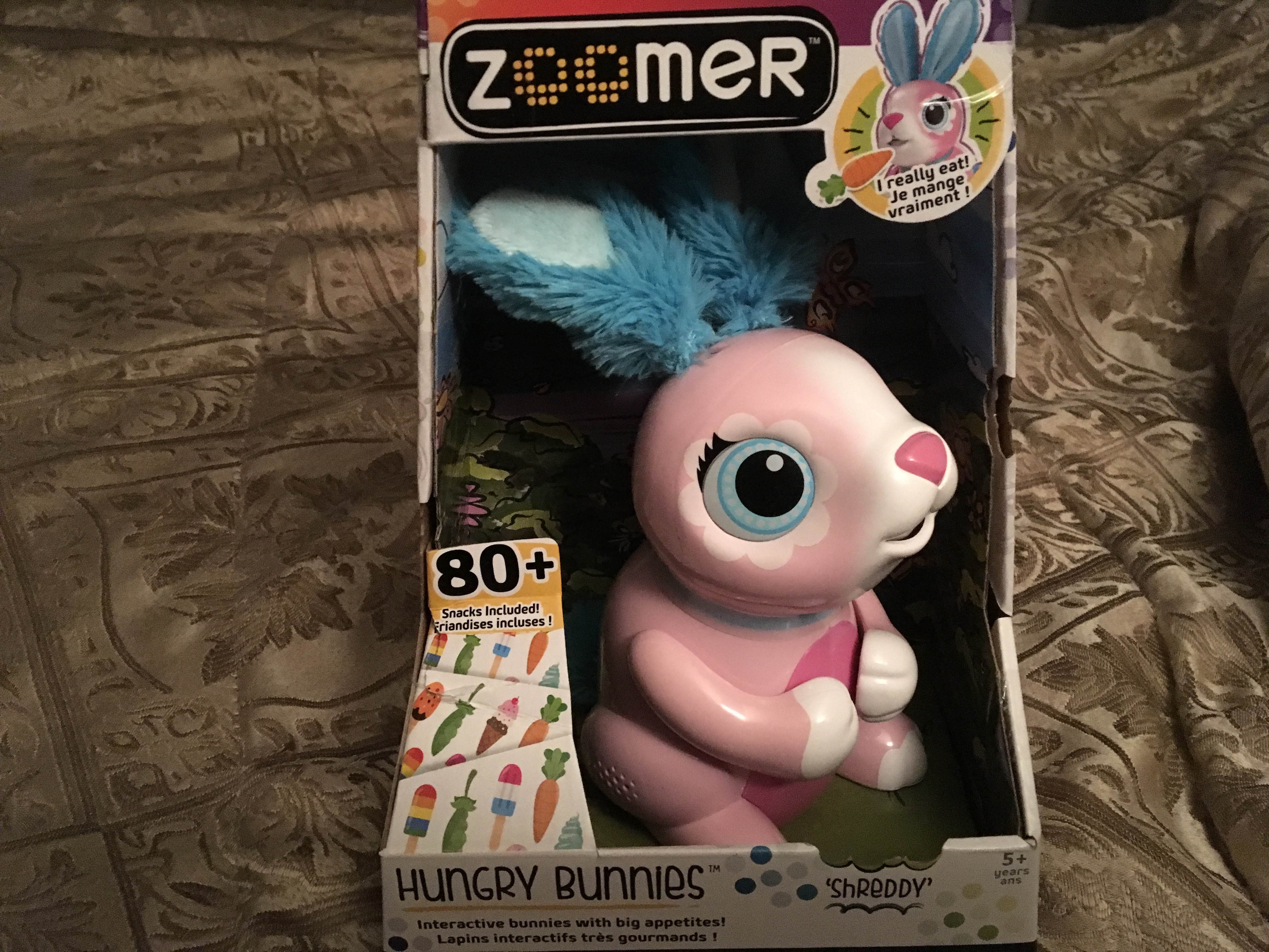 Zoomer Hungry Bunnies Reviews In Electronic Toys For Kids