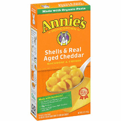 Annie's Macaroni and Cheese - Shells and Real Aged Cheddar