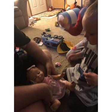 Luvabella Responsive Baby Doll - Blonde Hair