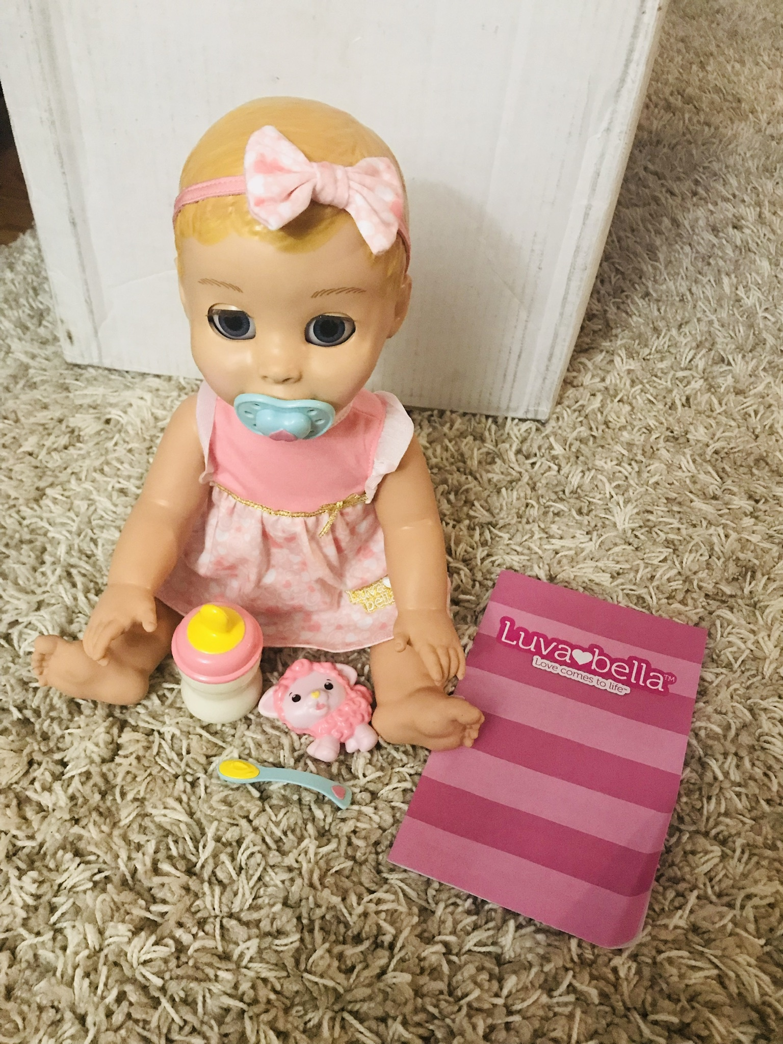 Luvabella Responsive Baby Doll Blonde Hair Reviews In
