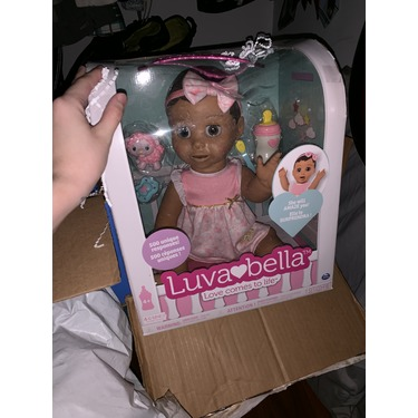 Luvabella Responsive Baby Doll - Brown Hair