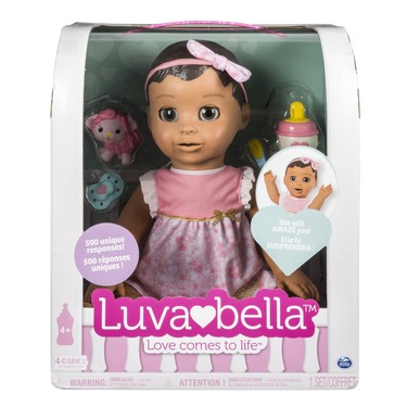 Luvabella Responsive Baby Doll Brown Hair Reviews In Dolls And