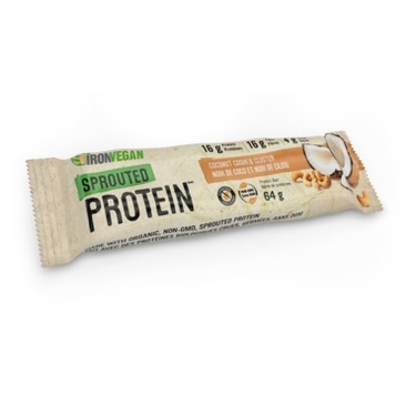 IronVegan Sprouted Protein Bar - Cashew Coconut