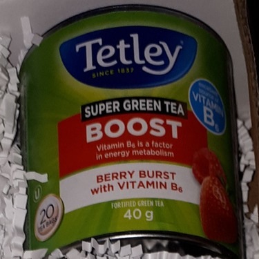 Tetley Super Green BOOST Berry Burst with Vitamin B6