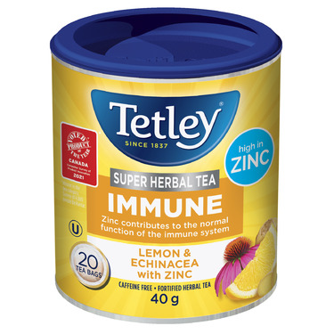 Tetley Super Herbal IMMUNE Lemon & Echinacea with Zinc