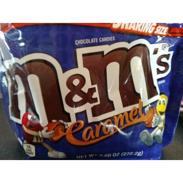 Caramel M&Ms;
