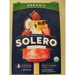 Solero Strawberry Colada crushed fruit bars