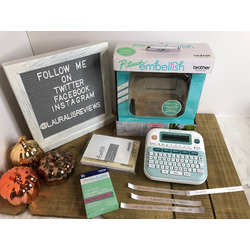 P-touch Embellish Ribbon and Tape Printer