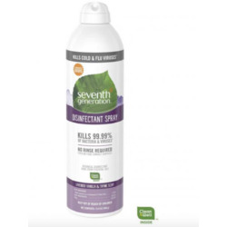 Seventh Generation Disinfectant Spray Lavender Vanilla and Thyme Scent