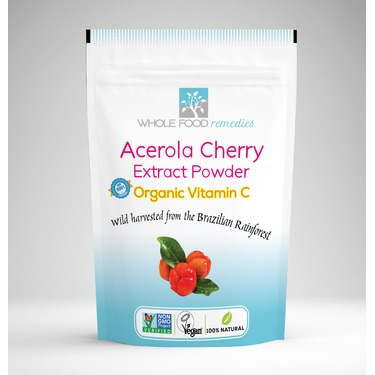 Whole Food Remedies Acerola Cherry Powder