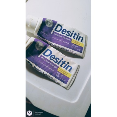 Desitin Maximum Strength Diaper Rash Cream