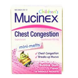 childrens mucinex mini melts