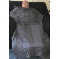 Weighting Comforts Weighted Flannel Blanket