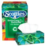 Scotties EnviroCare EnviroPlus 2 Ply Facial Tissue
