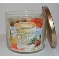 Bath and Body Works Marshmallow Pumpkin Latte 3 Wick Candle