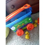 Building blocks in a cart