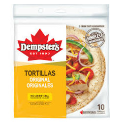 "Dempster's 10"" Original Tortillas"