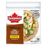 """Dempster's 7"""" Whole Wheat Tortillas"""