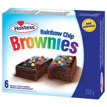 Hostess Rainbow Chip Brownies