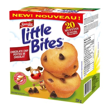 Sara Lee Little Bites Chocolate Chip Muffins
