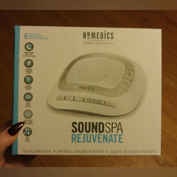 Homedics Soundspa - Rejuvenate Portable Sound Machine