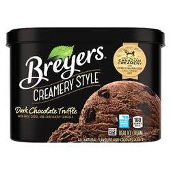 Breyers Creamery Style Dark Chocolate Truffle