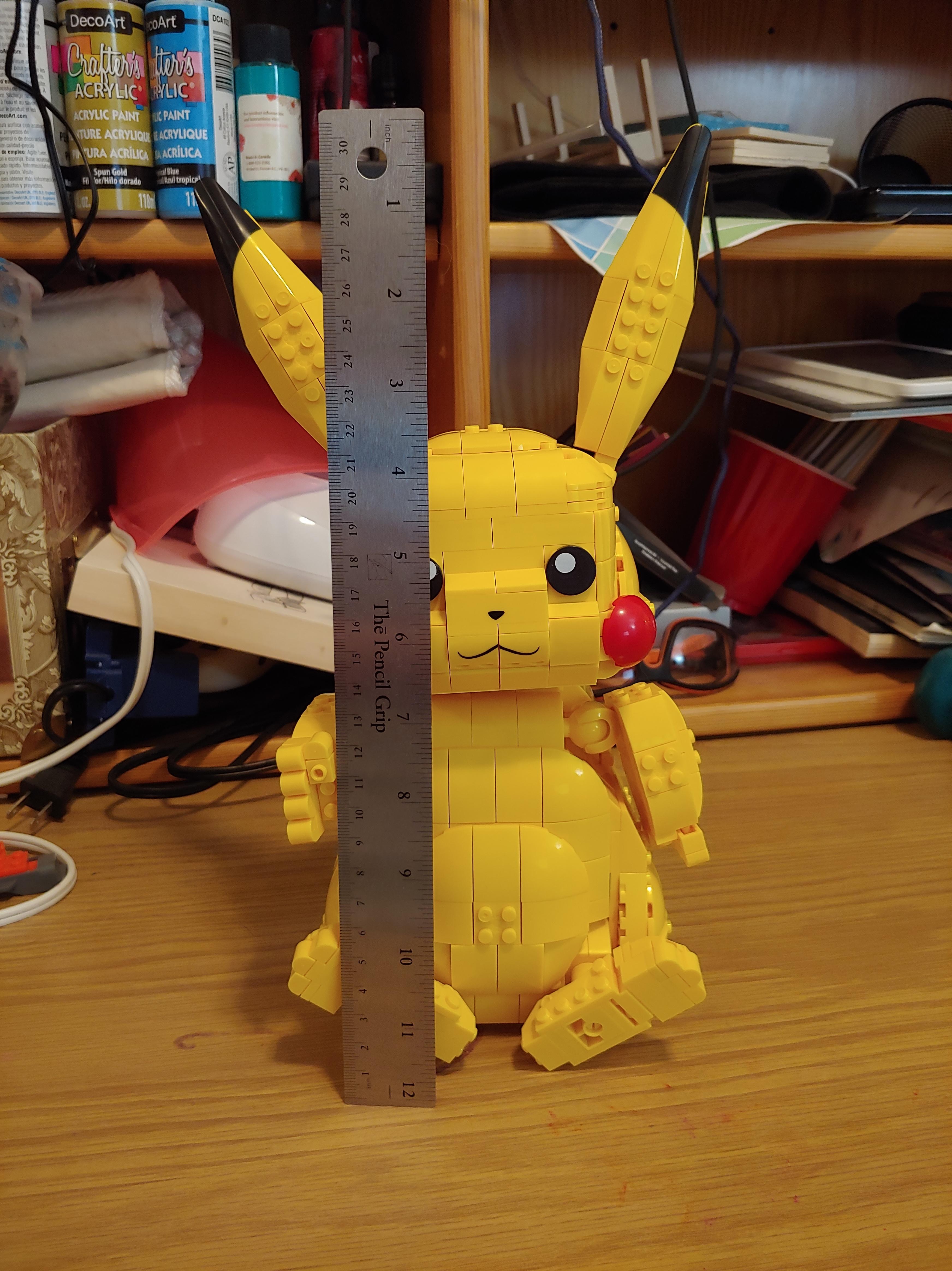 Mega Construx Pokemon Jumbo Pikachu Building Set reviews in Building