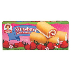 little debbie strawberry shortcake roll