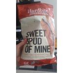 Hardbite. Sweet Spud Of Mine lightly salted sweet potatoe chips