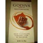 Godiva masterpieces caramel lion
